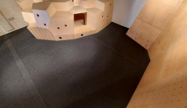 Kid's area Bouderhalle Basel